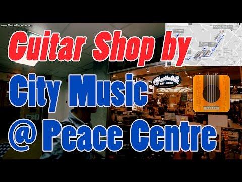 Introducing City Music at Peace Centre   Guitar Shops Part 2
