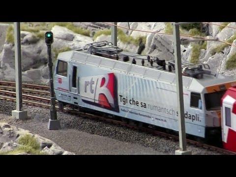 Das längste Video Miniatur Wunderland Modelleisenbahn
