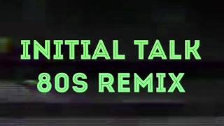 Lady Gaga - the Cure [Initialtalk NRS 80s remix] @initialtalk (G A L O U C H ガロッチ lyrics video)
