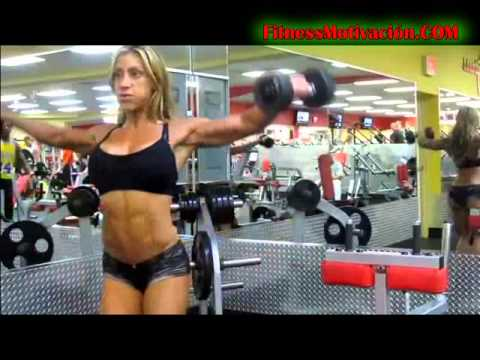 Chicas calientes haciendo Fitness Ejercicio Workout Motivation