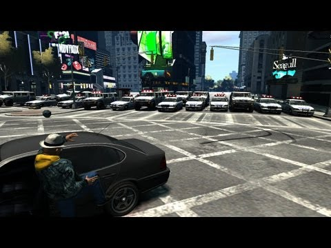 GTA IV - PC - Group Stunts/BUSTED! & Demolition Derby (19 May, '13)