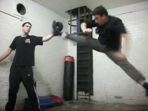 Old School Jeet Kune Do Training Image 1