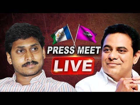 YS Jagan and KTR Holds a Press Meet | ABN Telugu