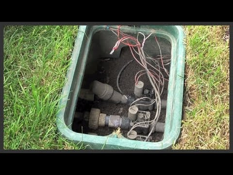 Manually Open A Hunter Pgv Sprinkler Valve Youtube