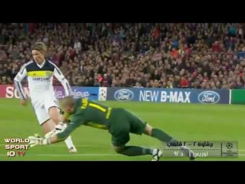 برشلونة 2 - 2 تشلسي 24-4-2012 كامله Barcelona Vs Chelsea video