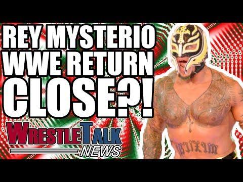 Rey Mysterio WWE RETURN Close?! | WrestleTalk News Mar. 2018