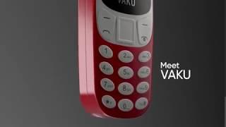 VAKU ® World's smallest Dual-Sim Nano Phone