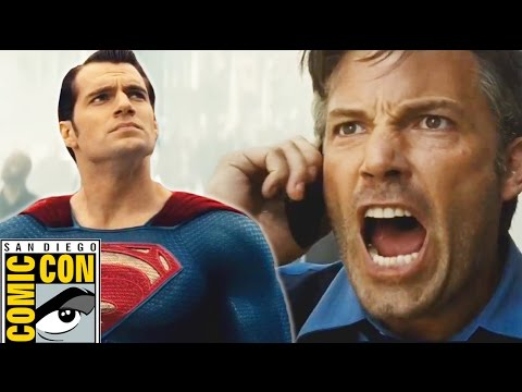 Comic-Con Trailer Reactions: Batman v Superman, Suicide Squad & More!