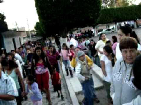 llevando al divino salvador a su capilla  13/02/2010