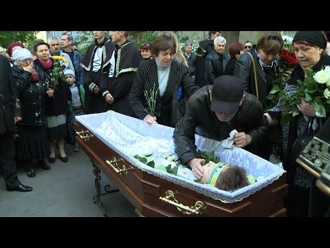 Funerals held in Odessa following deadly inferno