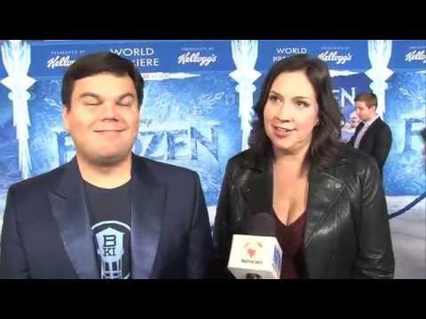 'Let it Go' songwriters Robert Lopez, Kristen Anderson-Lopez (Frozen Premiere)