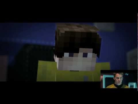 Minecraft - Star Trek: Into Darkness trailer [M2M] Side-by-side view