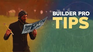 Builder Pro Tips! - Fortnite CONSOLE