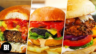 6 INCREDIBLE BURGER RECIPES | VEGAN | BOSH!