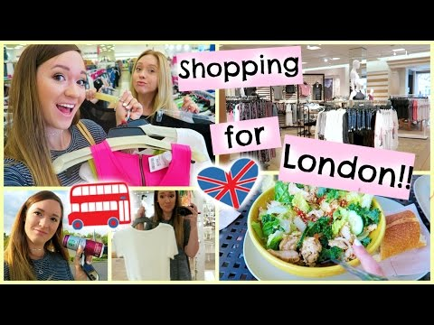 SHOPPING FOR LONDON!!!!