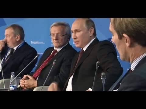 Putin on Crimea: the Bear does not ask Permission