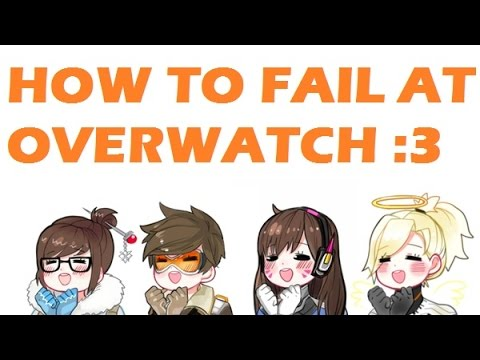 OASIS'S HOUSE TOUR & HOW TO FAIL AT OVERWATCH :3