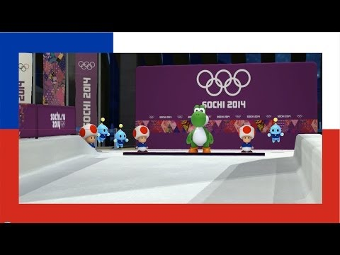 Mario & Sonic at the 2014 Olympic Winter Games - Skeleton