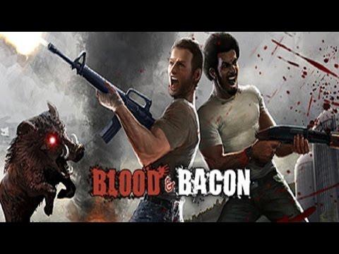 Убиваем хряков в Blood and Bacon