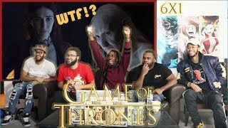 """Game of Thrones """"The Red Woman"""" Season 6 Episode 1 REACTION!"""