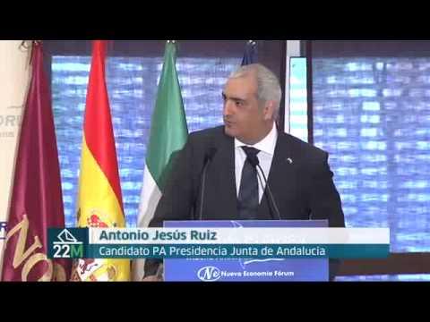 """Antonio Jesús Ruiz """"el 22 de marzo el Partido Andalucista volverá al Parlamento de Andalucía"""""""