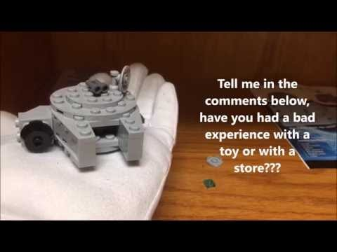 LEGO FREE Millenium Falcon May 7th Toys R US Exclusive Review!  RANT