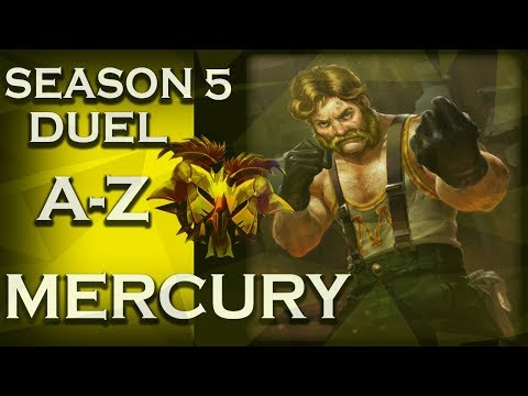 Smite: Season 5 Duel A-Z! | Mercury | Tally-ho! | #57