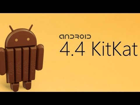 Nueva versión de Android 4.4 Kit Kat y Nexus 5