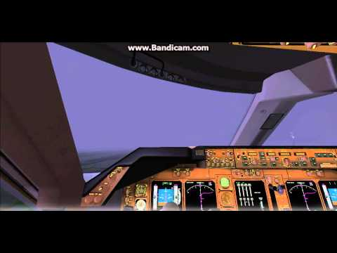 FS2004 Philippine Airlines Boeing 747-400 Take-off at VTBS