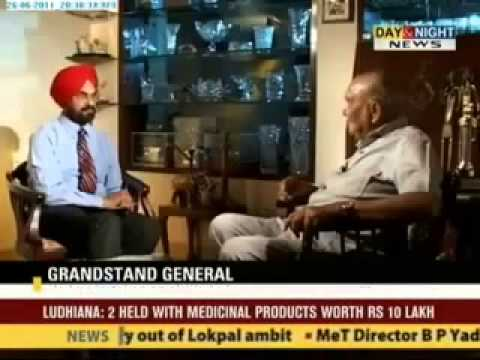 Gen.Sinha about army attack on Golden Temple.1