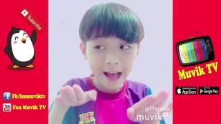 Cậu bé học lớp 7 nhép giọng Muvik siêu dễ thương