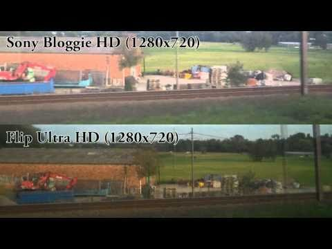 Sony Bloggie HD vs Flip Ultra HD