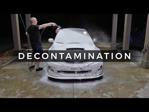 WRX Detailing Series: E3   Decontamination Process