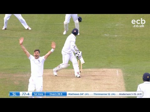 James Anderson takes 5-16 - England v Sri Lanka