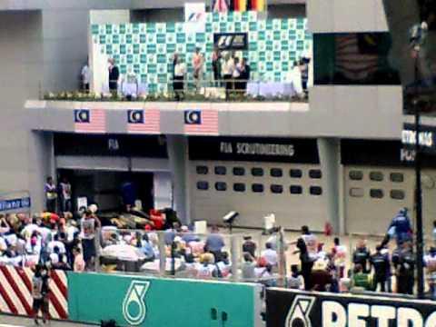 THE WINNER OF F1 2011 MALAYSIA OPEN
