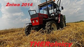 Żniwa 2014 z THERolnicy | Ursus C-360 4x4 |  Zetor 3011 | JOHN DEERE 18S | Engine Sound | THERolnicy