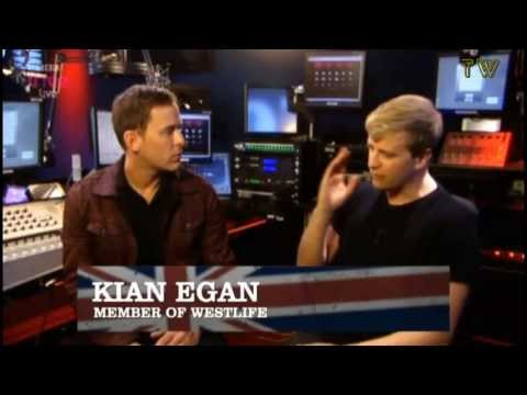 Kian Egan - talking about Westlife (Eurovision Semi-Final 2 / May 16,2013)