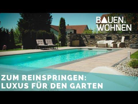 Eigener Pool im Garten