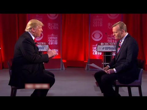 Donald Trump Interview on Face the Nation 2/14/16