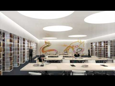 New library at the University of Aberdeen