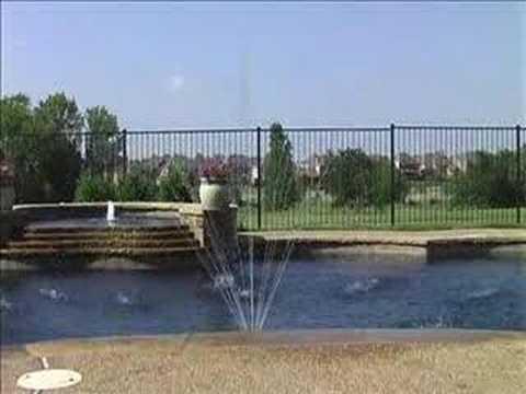 Polaris Water Stars Fountain Wf Swimming Pool Display Youtube