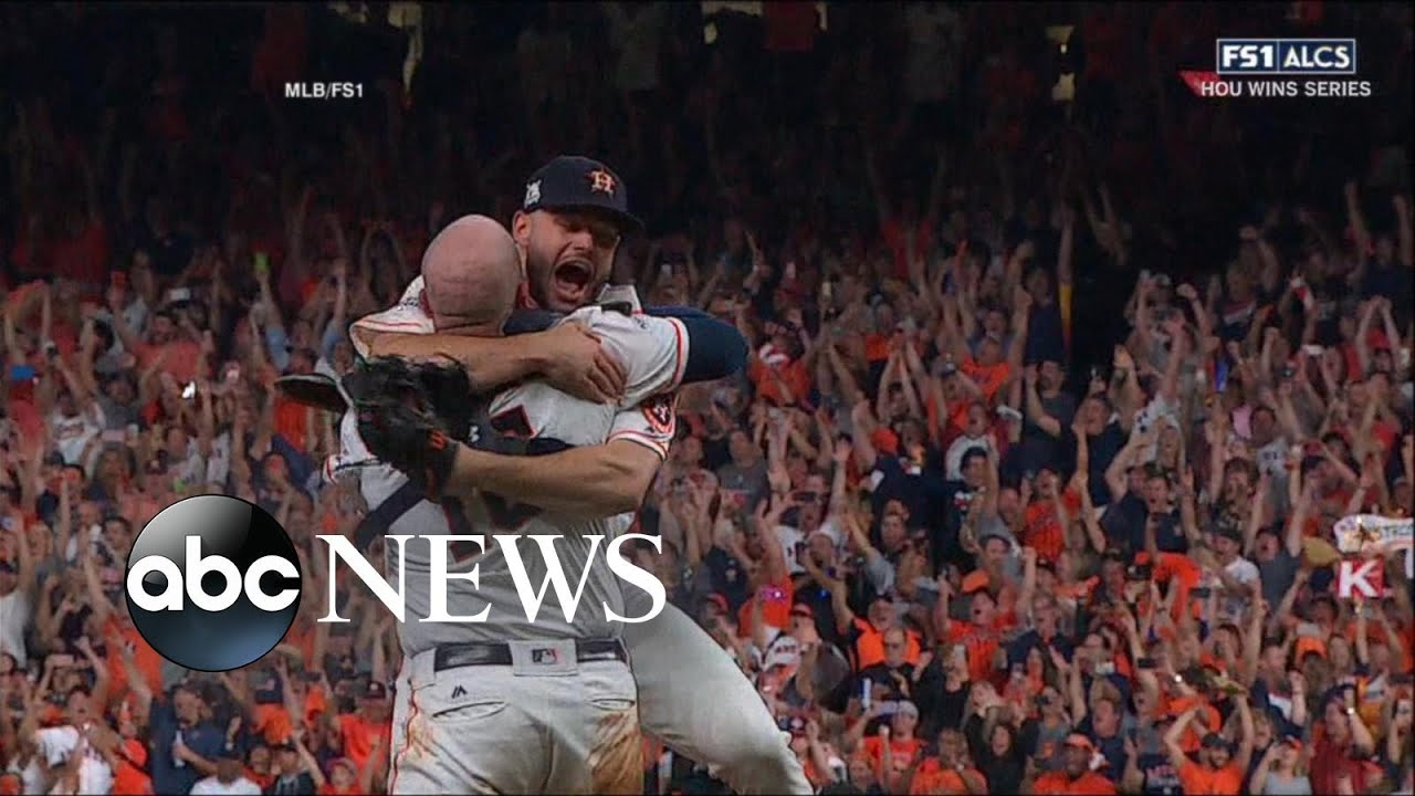 Houston Astros defeat the New York Yankees to win a spot in the 2017 World Series