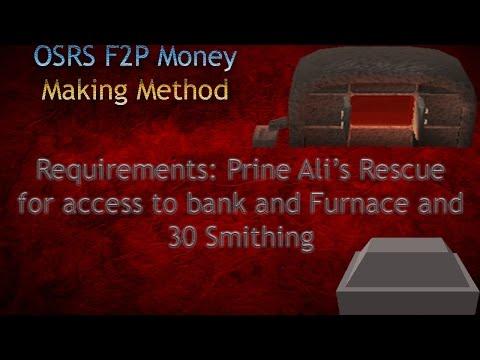OSRS F2P Money Making Guide - Steel Bars