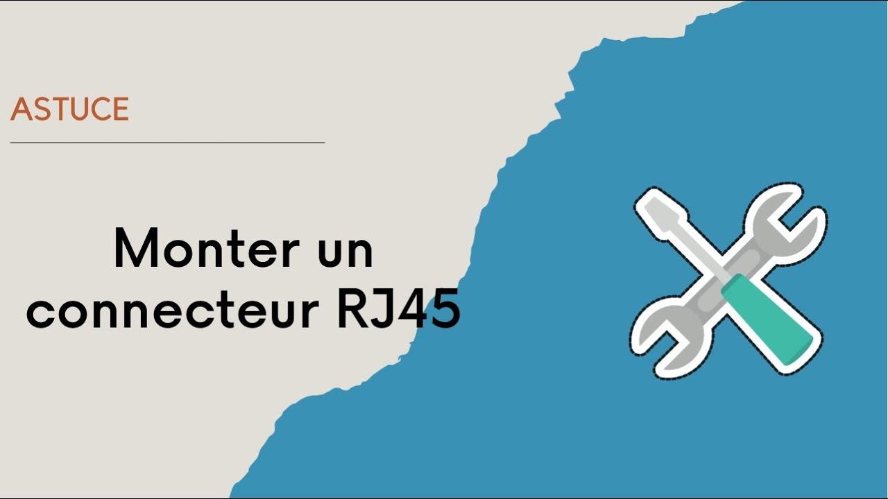 Comment monter un connecteur rj45 youtube - Comment monter un grillage de cloture ...