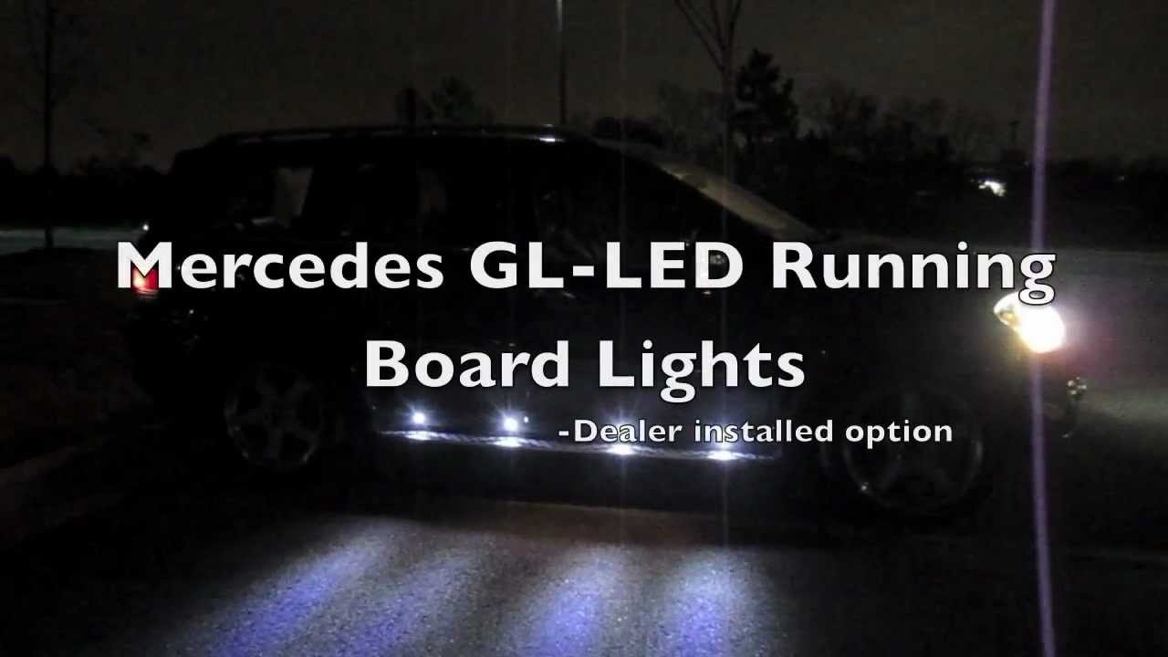Puddle Lights Mercedes Benz Gl550 Running Board Youtube