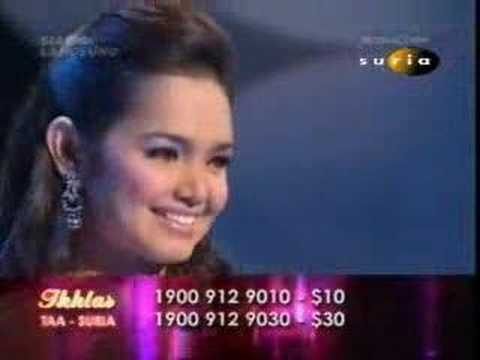 Siti Nurhaliza - Ikhlas '05 - Air Mata Ibu video
