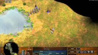 The Bozeman Trail - Age of Empires 3 The Warchiefs - Act 2 Mission 1 - Hard