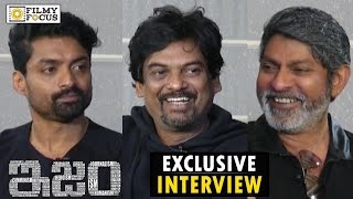 puri-jagannadh-kalyan-ram-and-jagapathi-babu-funny-interview-about-ism-movie
