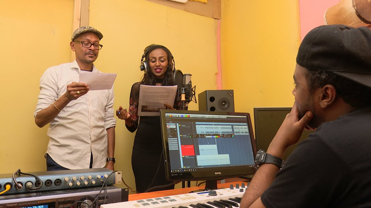 Sunday On EBS Asfaw And Rakeb At Music Studio