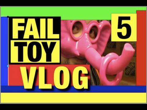 Funny Video- Fail Toy 5th VLOG Mike Mozart @JeepersMedia Channel Funny Playlist on YouTube